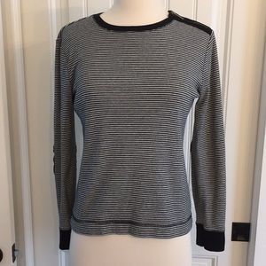 Lauren Jeans Company Black and White Top